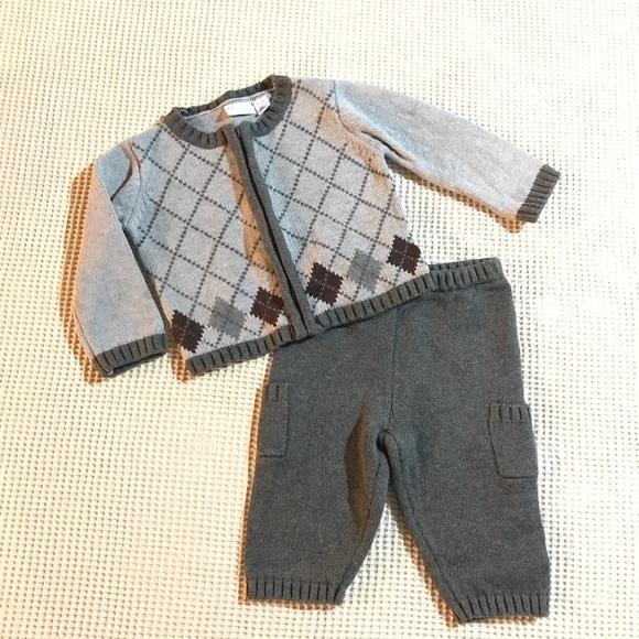 b7f31e21c piper & posie Matching Sets   Piper Posie Baby Boy Argyle Sweater ...